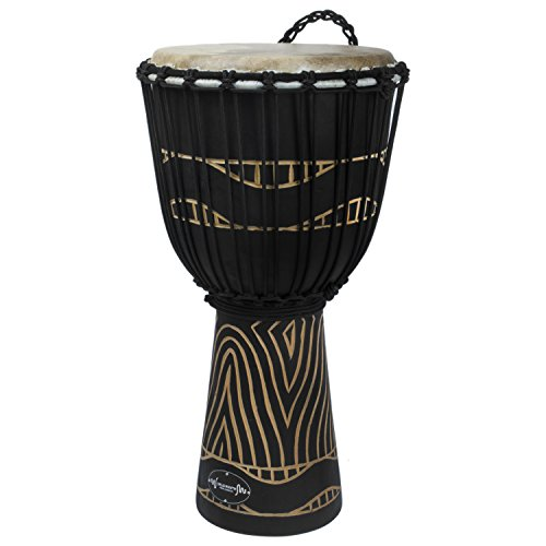 World Rhythm MDJ012 - Djembé, color negro (8')