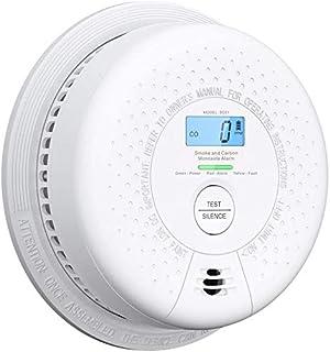 X-Sense 10 Year Battery Smoke and Carbon Monoxide Alarm with Display, Dual Sensor Smoke CO Detector Complies with EN 14604...