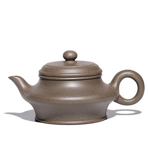 Juan Ni Erts denkbeeldige vlakke groene stucwerk thee theepot theepot speciale voordelen (Color : Purple mud)
