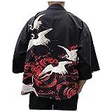 Kimonos Hombre Mujer 2021 Kimono japonés de Cosplay Cardigan Blusa de la Camisa de Las Mujeres japonesas Yukata Kimono Femenino Playa del Verano