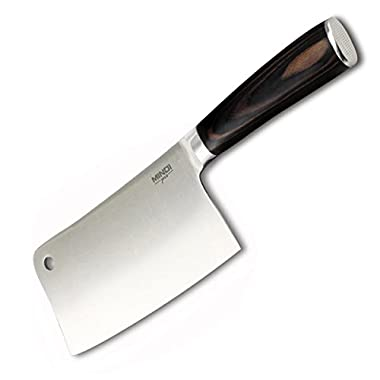 7 Inch Heavy Duty Cleaver - Chopper - Butcher Knife for Home, Kitchen & Restaurant
