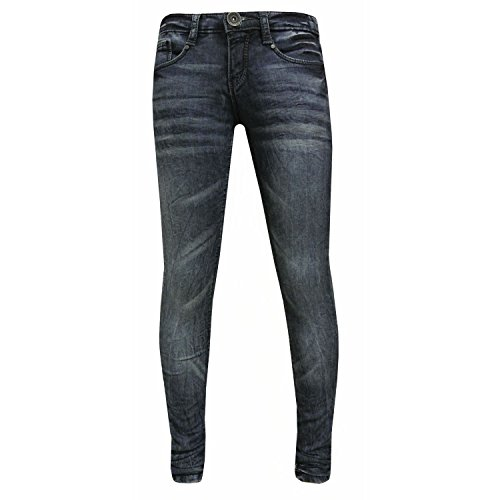 Blue Rebel - meisjesbroek jeans washed look. blauw