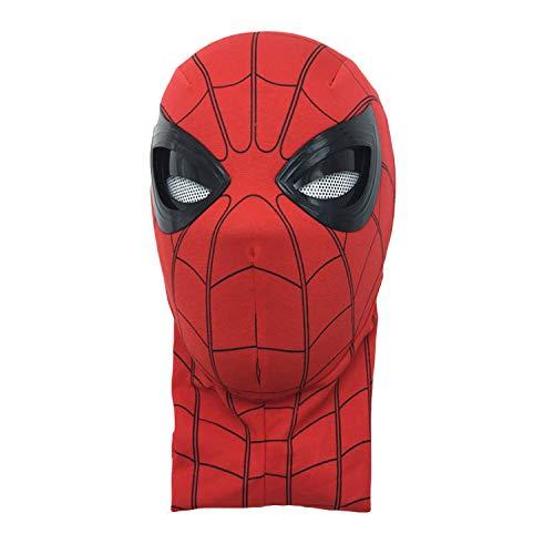 QWEASZER Máscara de Spider-Man, Far from Home, Spiderman 1: 1 Electronic Full...