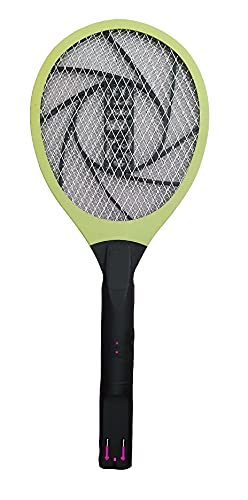 SUPER TOY Rechargeable Mosquito Killer Bug Zapper Racket Bat with 3 Months Warranty - Multi-Color