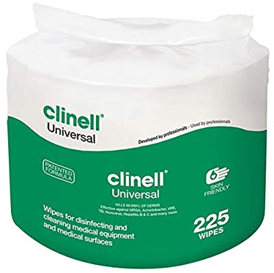 Clinell Universal Wipes from Gama Healthcare