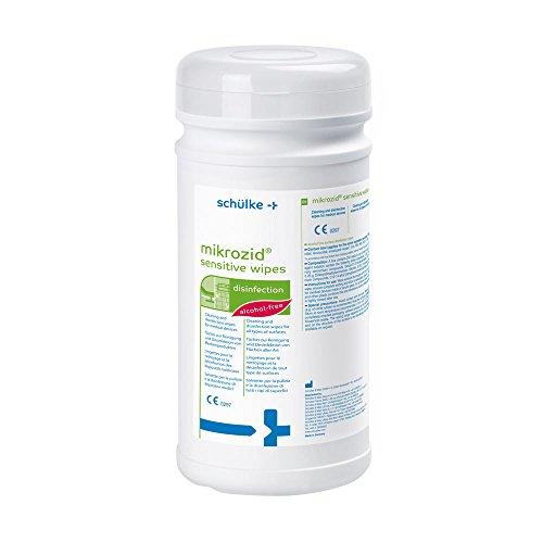 mikrozid® sensitive wipes Desinfektionstücher, Flächen Spenderdose a´ 200 wipes