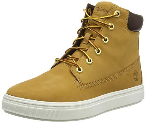 Timberland Damen Londyn 6 Inch Sneaker Halbhoch, Braun (Wheat), 39 EU