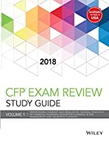 Wiley Study Guide for 2018 CFP Exam - Vol. 1