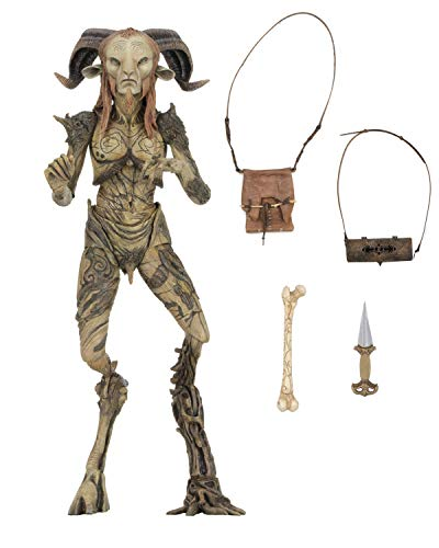NECA-El Laberinto Figura Signature Collection Fauno, Multicolor (NECA33153)