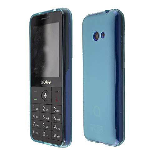 caseroxx TPU-Hülle für Alcatel 3088 / 3088X, Handy Hülle Tasche (TPU-Hülle in blau)
