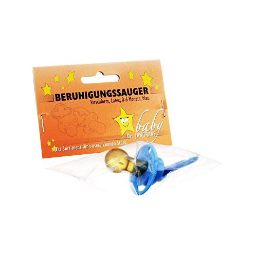 BERUHIGUNGSSAUGER kirschf.Lat.0-6 M.blau 1 St