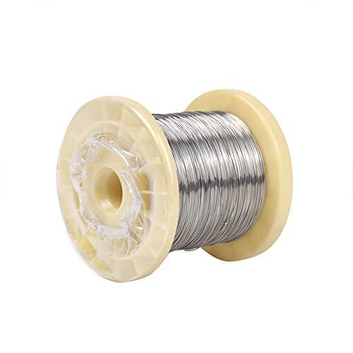 JKGHK Filo di Cromo Nichel può Essere Utilizzato Come Materiale di Resistenza (Lunghezza: 100 Metri),Diameter:0.5mm