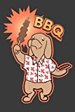 BBQ: 6' x 9' Barbecue Dog Journal, 120 lined pages