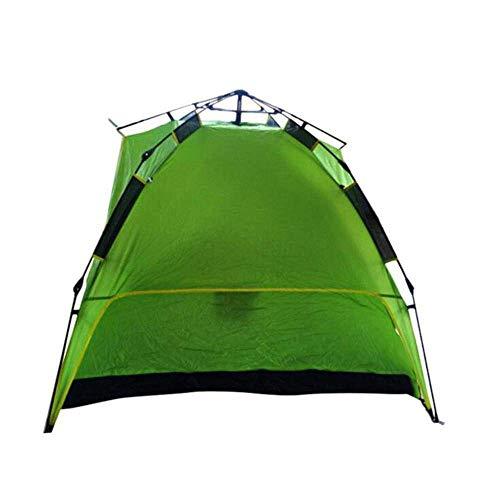 MIRAGE Outdoor Zelt Sport Outdoor Mountain Camping Zubehör Zelt Fiberglas Rod Camping Dreier Automatisches Zelt 240 x 210 x 130 cm, a