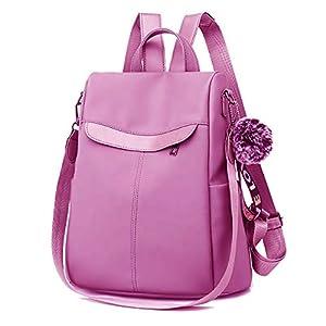 SLIKEE Cute Style female student Oxford Waterproof anti thief school bags backpack girls Daily backpack sling bag (KB-0117, Baby Pink)