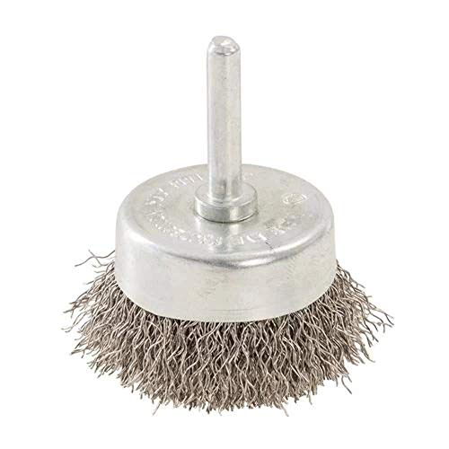 Silverline 529311 Rotary Stainless Steel Wire Cup Brush 50 mm