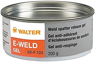 Walter 53F103 E-Weld Gel Weld Spatter Release Solution - Non Toxic, Silicon Free Anti Splatter Gel. Industrial Adhesives