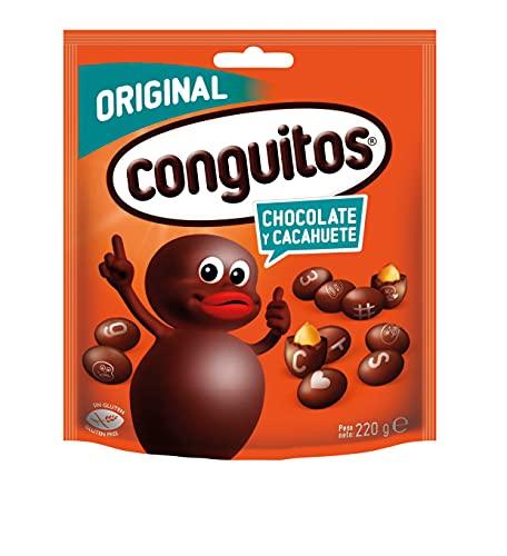 Conguitos Blancos Cacahuete con Chocolate - 1000 gr