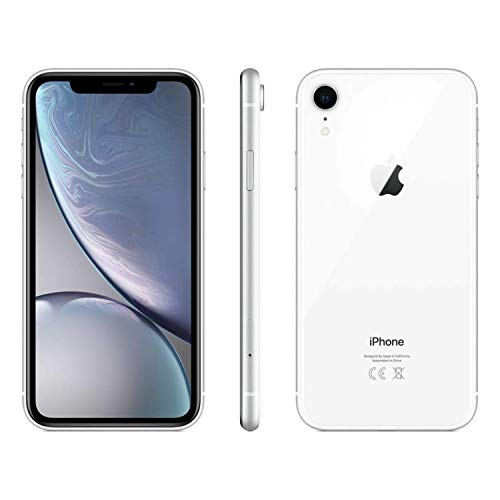 Apple iPhone XR, 64GB, White - For AT&T (Renewed)