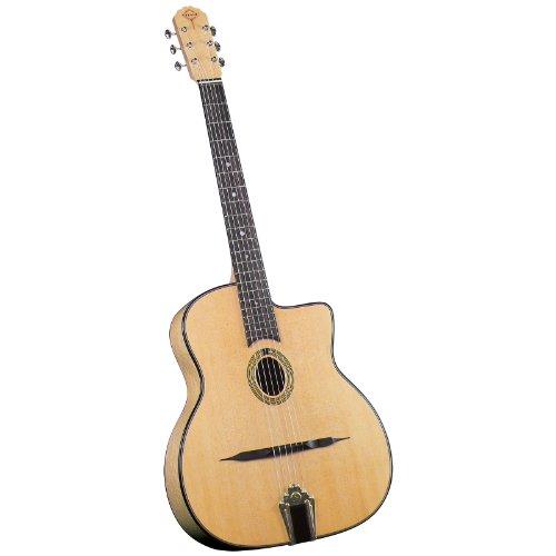 Gitane DG-250M Saga ovales Schalloch Gitarre
