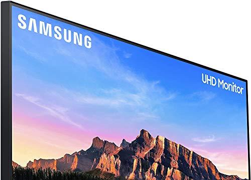 Samsung U28R552UQU 71,12 cm (28 Zoll) UHD Monitor (3.840 x 2.160 Pixel, IPS-Panel, 16:9 Format, 60 Hz, 4ms) schwarz