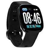 Fullmosa Smart Watch 24/7 Heart Rate Monitor, 1.3in Touch Screen Fitness Tracker IP68 Waterproof Activity Tracker for Android and iOS, Pedometer Sleep Tracker for Women Men