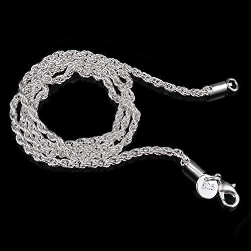 DODO.GOGO 3M Hanf Seil Halskette Ebay heißen versilberten Schmuck.