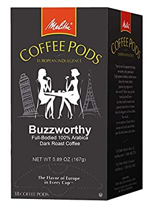 Melitta Coffee Pods, 18 Count (Pack of 4) by Melitta