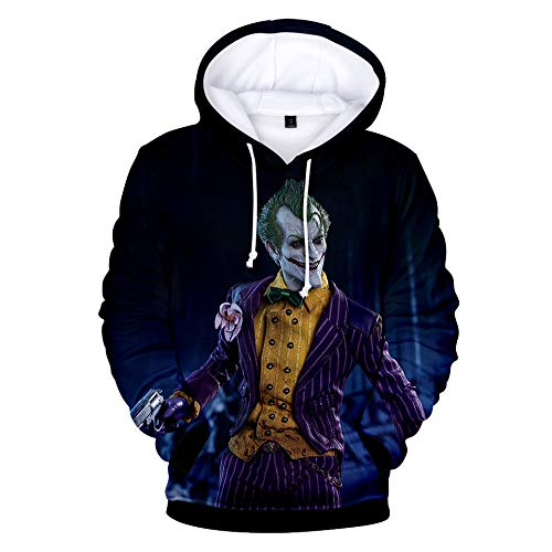Halloween Big Boy's Hoodies Sweatshirt Long Sleeved Solid Color Cotton Fashion Hooded Pullover with Pocket Cosplay Loose Fluffy/D/S