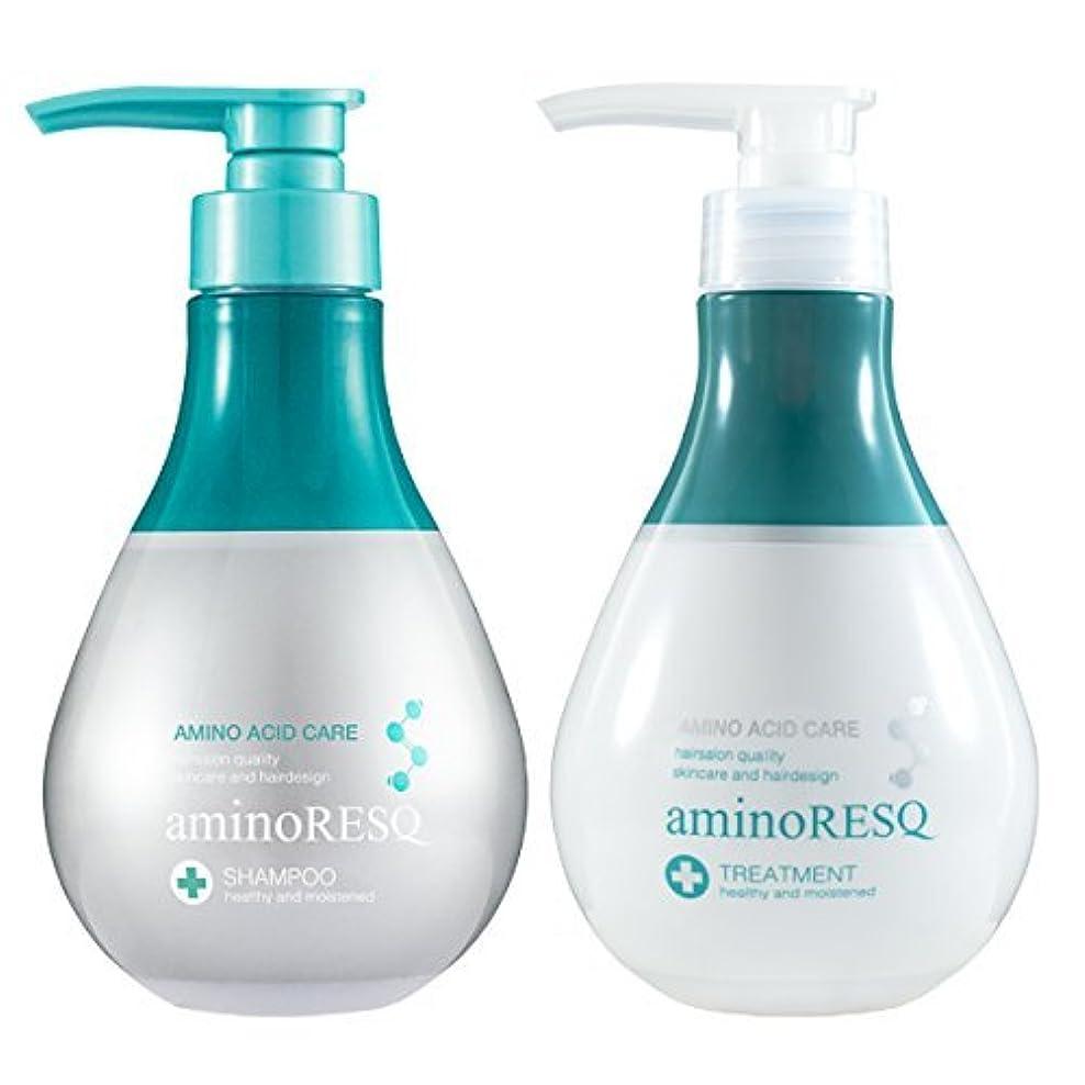 遵守する問い合わせる毎日aminoRESQ アミノレスキュー シャンプー&トリートメントセット (フローラル)