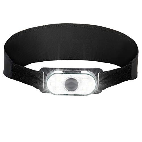 Linterna Frontal LED USB Recargable 1000mAh, Linterna Cabeza 4 Modos, Linternas LED alta Potencia 6000K 150LM Impermeable IPX4 para Camping, Excursión, Carrera, Ciclismo