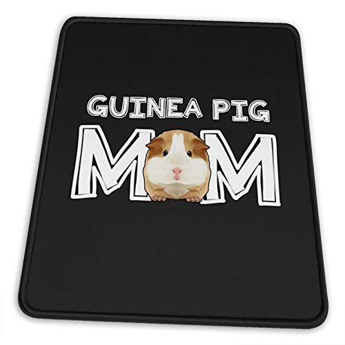 Guinea Pig Mom Gaming Mouse Pad Non-Slip Rubber Mousepad with Durable Stitched Edges for Computers Laptop Gaming Office & Home 7.9 x 9.5 in
