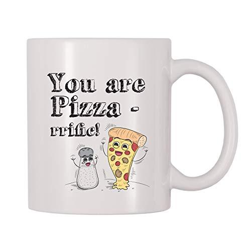 4 All Times You Are Pizza-rrific Coffee Mug (11 oz)
