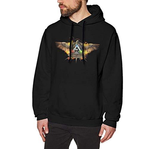 Yesbnow Men Special Design ARK Survival Evolved Hooded Sweatshirts