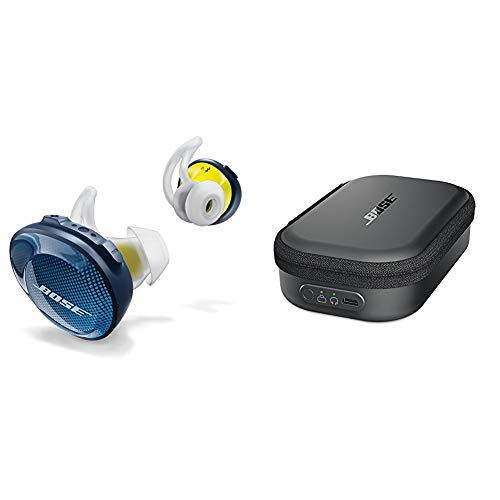 Bose SoundSport Free wireless headphones - Blau + SoundSport Transportetui mit Ladefunktion