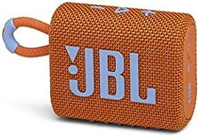 JBL GO3 Bluetoothスピーカー USB C充電/IP67防塵防水/パッシブラジエーター搭載/ポータブル/2020年モデル オレンジ JBLGO3ORG 【国内正規品/メーカー1年保証付き】
