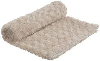 bkb Rose Cuddle Baby Blanket, Ivory