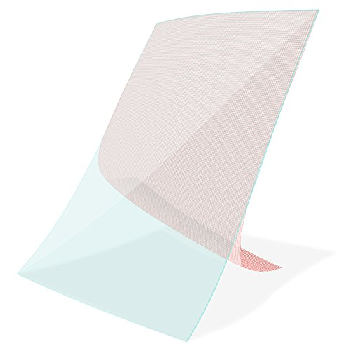 Nauci Display Schutz Folie Tablet 3X Universal Displayschutz bis 10 Zoll Schutzfolie
