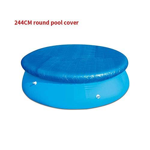 LMTXXS - Cubierta para piscina, cubiertas para desagües para bloquear las hojas, instalación fácil, antipolvo, resistente a la lluvia, duradera