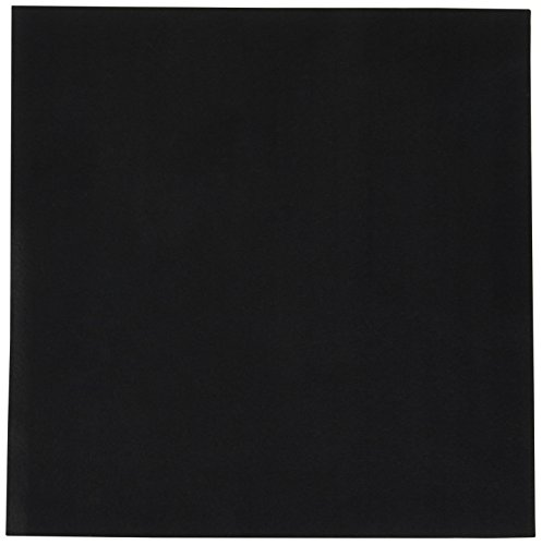 KIYOHARA ウォッシャブル フェルト 縦30cm×横30cm #112 ブラック系 KT1003