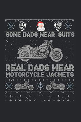 Some Dads wear suits Bike Rider Christmas Gifts: Notebook