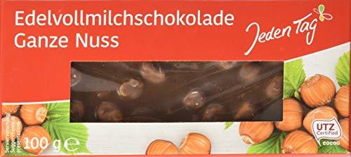 Jeden Tag Schokolade Ganze Nuss, 100 g