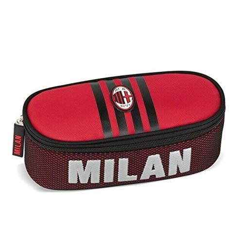 A.C. Milan Astuccio Ovale Organizzato Scuola - 2020-2021
