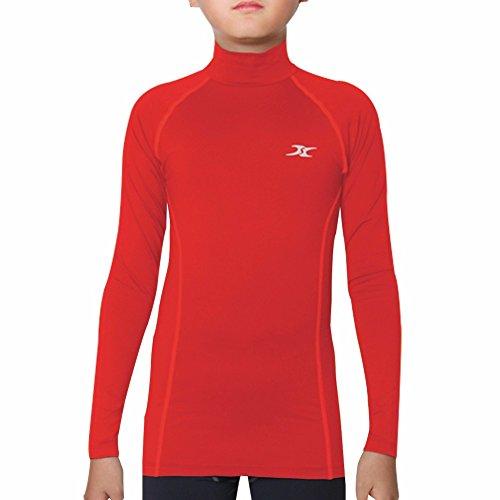 Henri maurice thermisch ondergoed Kids Mock Coltrui Shirts Compressie Tops Basislaag NLK