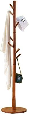 Amazon.com: Diseño de rama de árbol 10 gancho madera de ...