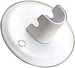 Oryx 5300250 Soporte Tubo Oval Cromo Lateral 30x15