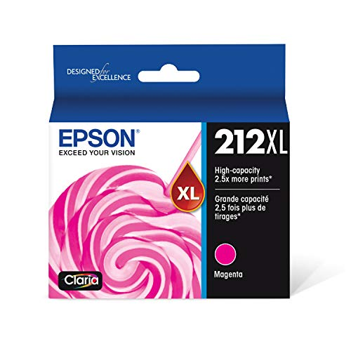 Epson T212 Claria High Capacity Cartridge Ink - Magenta