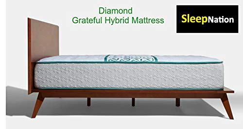 Best Deals! Grateful Hybrid Mattress and Box (Full, Medium)