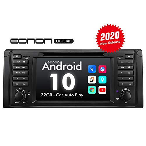 eonon GA9449 Android 10 fit BMW 5 Series E39 1995-2002 Car Stereo Autoradio Quad-Core 2GB RAM 32G ROM Quad-Core Car Indash 7