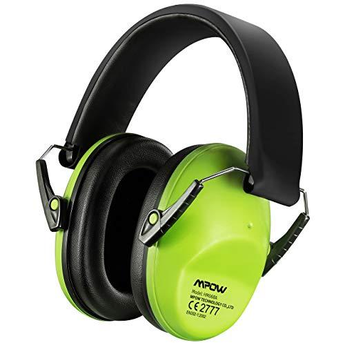 Mpow Casque Anti-bruit Enfant Adulte Pliable Réglable avec Sac Transport, Casques Antibruit à...
